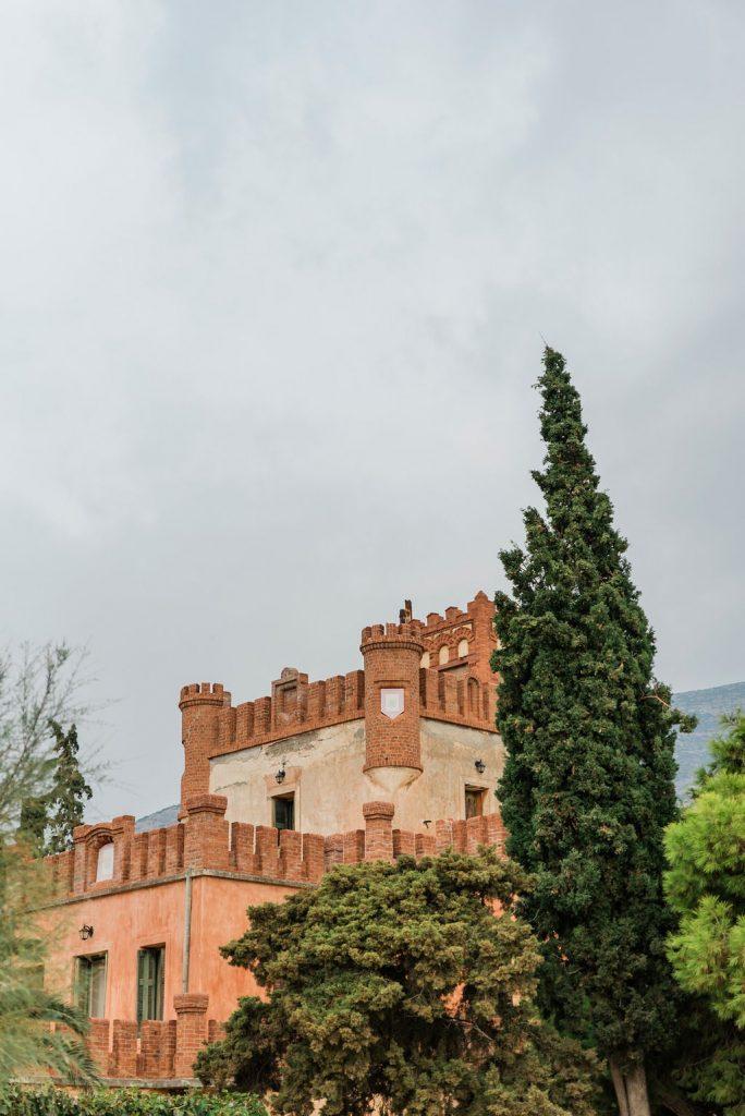 castle wedding venue in Greece