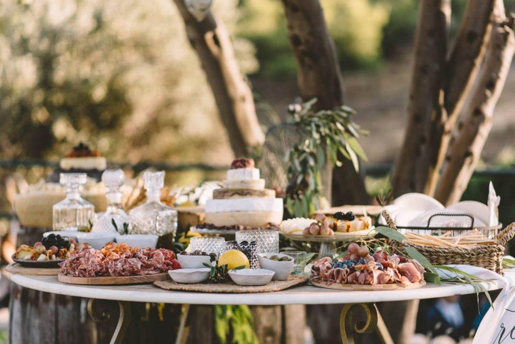 UNEXPECTED WEDDING FOOD
